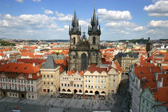 Free Roofs Of Prague Stock Photography - 19257582