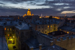 Free Roofs Of St. Petersburg Royalty Free Stock Images - 72655499