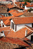 Roofs of old ankara Stock Photography