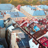 Roofs of old buildings Royalty Free Stock Images
