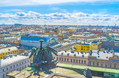 The roofs of old capital of Russia Stock Photo
