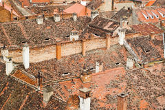 Roofs of the old city Royalty Free Stock Photos