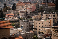 Roofs of Old City in Nazareth Stock Photos