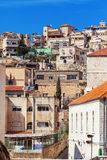 Roofs of Old City in Nazareth Royalty Free Stock Photography