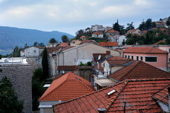 Roofs of the old city Stock Photo