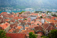 Roofs of old European town Stock Photo