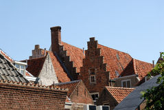 Roofs in an old european town Royalty Free Stock Images