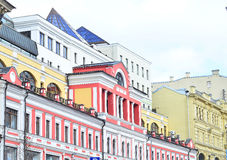 Russia. Moscow. Italian style roofs Royalty Free Stock Images