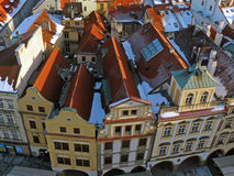 Roofs of old Prague Royalty Free Stock Photo