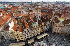 The roofs of old Prague Royalty Free Stock Images
