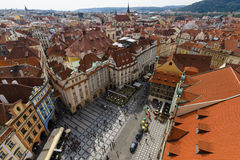 The roofs of old Prague Royalty Free Stock Photography