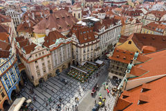 The roofs of old Prague Royalty Free Stock Photo