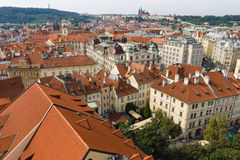 The roofs of old Prague Royalty Free Stock Image
