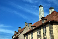 Roofs of old Riga Royalty Free Stock Photography