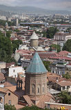 Roofs of old Tbilisi Royalty Free Stock Image