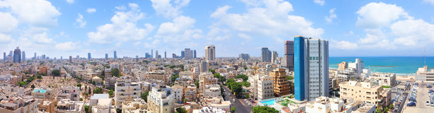 Roofs of old Tel-Aviv (Israel) Stock Photos