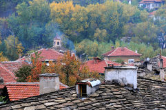 Roofs of Old Town of Lovech Stock Photos