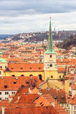 Roofs of Old Town Prague Royalty Free Stock Photos