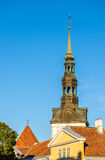 Roofs of the old town of Tallinn Royalty Free Stock Photography