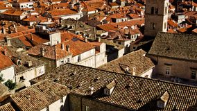 Roofs, Orange Roofs, Brown Roofs Royalty Free Stock Photos