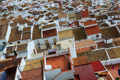 Roofs  of ordinary andalusian town.  Olvera Stock Photos