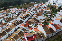 Roofs  of ordinary andalusian town.  Olvera Stock Photography