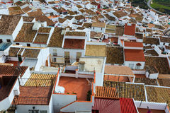 Roofs  of ordinary andalusian town. Olvera,        Spain Royalty Free Stock Photos