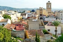 The roofs of Orihuela Royalty Free Stock Images