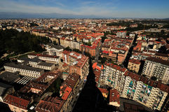 Roofs over Torino Stock Image