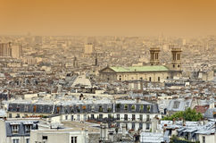 Roofs of Paris Royalty Free Stock Photos
