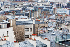 The roofs of Paris Stock Images