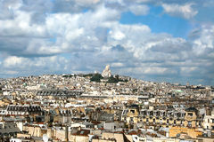 Roofs in Paris Royalty Free Stock Photo
