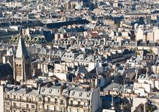 Roofs of Paris. France Stock Photos