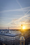 The Roofs of Paris Royalty Free Stock Image