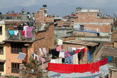 Roofs of Patan Stock Photography