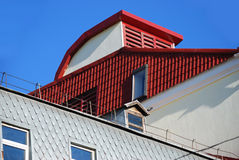 Roofs (photo1) Royalty Free Stock Photography