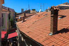 Roofs of Porec. View of the roofs of Porec, Istria. Croatia Royalty Free Stock Photo