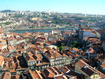 Roofs of Porto in Portugal Stock Photo