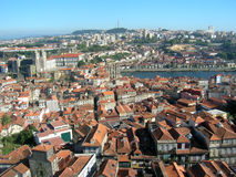 Roofs of Porto in Portugal royalty free stock photo