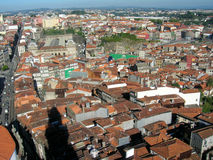 The roofs of Porto in Portugal stock photo