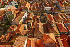 Roofs of Porto, Portugal Stock Images