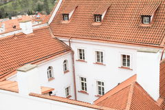 Roofs in Prague Stock Image