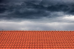 Roofs for protection against rain Royalty Free Stock Photography