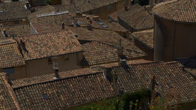 Roofs in Provence Stock Photography