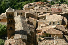 Roofs of the Provence town Royalty Free Stock Images