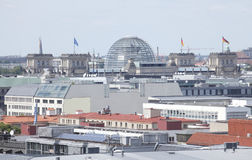 Roofs with the Reichstag  in  Berlin Stock Photos