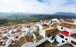 Roofs  of residential districts in spanish town Royalty Free Stock Photography