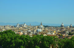 The roofs of Rome Royalty Free Stock Images