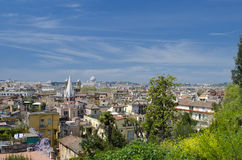 Roofs of Rome Stock Photography
