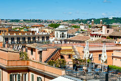 Roofs of Rome Stock Image